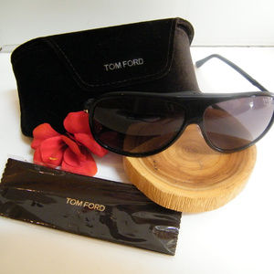 Tom Ford Chris Aviator Polarized Sunglasses Mens